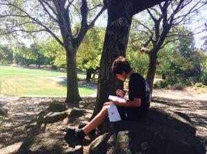Outside writer